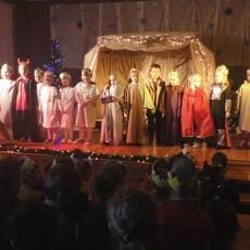 Jasełka i Orszak Trzech Króli w Szkole Podstawowej Nr 6 w Braniewie