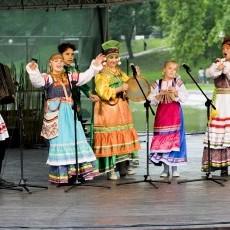 I Międzynarodowy Braniewski Festiwalu Folkloru - dzień pierwszy