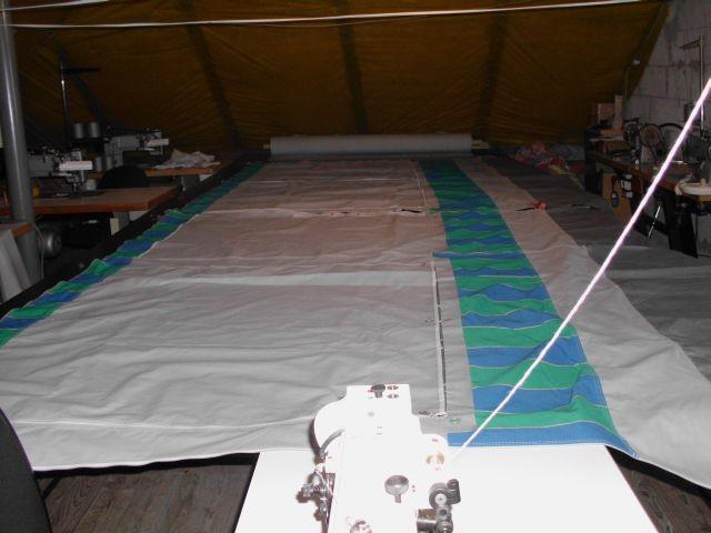 Szycie Parasole Altany, Naprawa Przedsionki Camp, Pokrycia Na łodzi